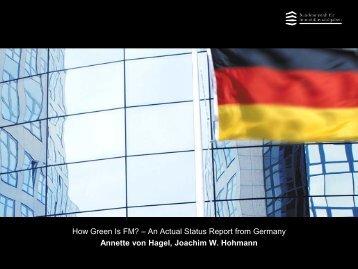 Mr. Joachim W. Hohmann