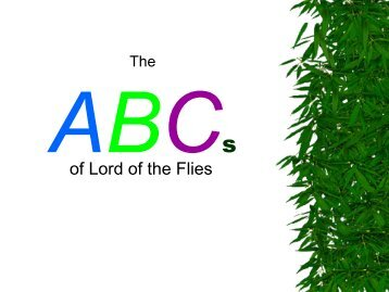 essay questions from lord of the flies List of ten possible questions for essay on lord of the flies, essaybasicscom.