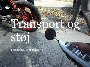 Transport og støj, v. Brian Kristensen - Ida