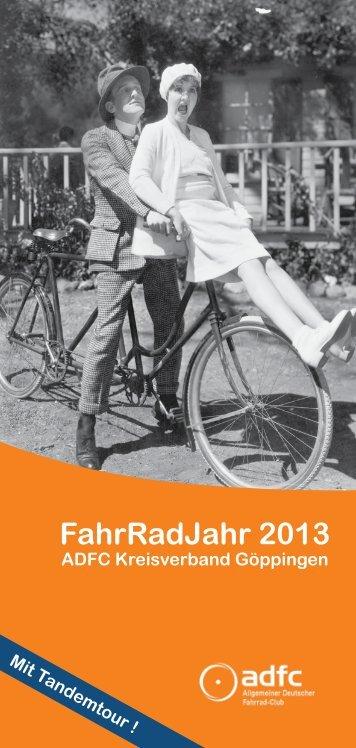 FahrRadJahr 2013 - ADFC