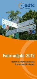 Fahrradjahr 2012 - ADFC