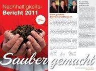 Kurzfassung - Saubermacher Dienstleistungs AG