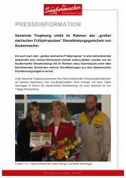 Pressemitteilung (PDF) - Saubermacher