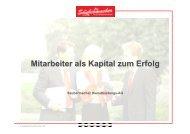 Mitarbeiter als Kapital zum Erfolg - Saubermacher Dienstleistungs AG