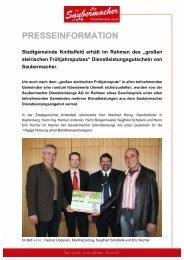 Pressemitteilung (PDF) - Saubermacher Dienstleistungs AG