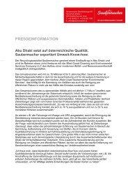 PRESSEINFORMATION Abu Dhabi setzt auf österreichische ...