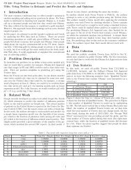Problem set 1 solutions (pdf) - CS 229