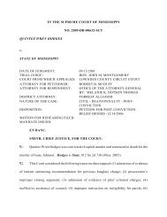IN THE SUPREME COURT OF MISSISSIPPI NO. 2005-DR ... - Justia