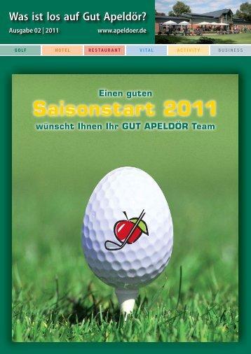 Saisonstart 2011 - Golf Club Gut Apeldoer