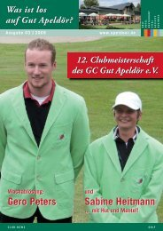Club-News 03 - Golf Club Gut Apeldoer