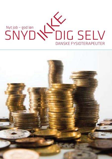 Snyd ikke dig selv i løn - Danske Fysioterapeuter