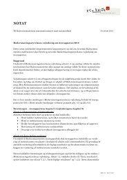 KUM's vejledning til udarbejdelse af årsrapport (pdf) - Kulturministeriet
