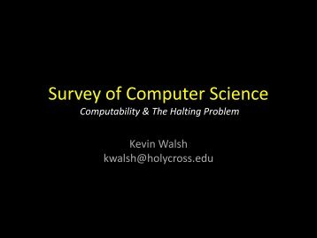 The Halting Problem - Mathematics and Computer Science