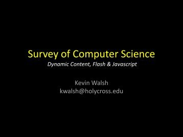 scripts - Mathematics and Computer Science