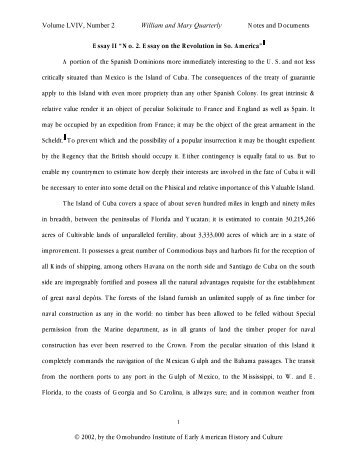 the backside of american history volume ii edward wallace essay ii omohundro institute of early american history and culture