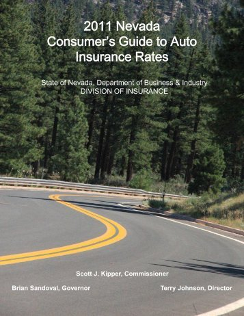 2011 Nevada Consumer's Guide to Auto Insurance Rates