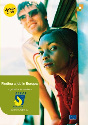 """Finding a job in Europe"" PDF document 
