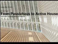 From Passivhaus to Active House