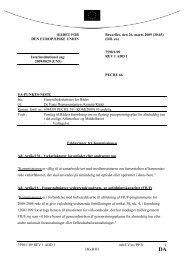7598/1/09 REV 1 ADD 1 mh/LV/av/PP/lv 1 DG B III RÅDET FOR DE ...