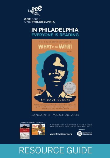 Reading and Resource Guide - Free Library of Philadelphia