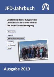 JFD-Jahrbuch 2013 - Jesus Freaks Deutschland