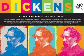a year of dickens at the free library - Free Library of Philadelphia