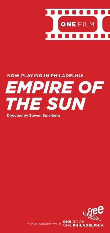 EMPIRE OF THE SUN - Free Library of Philadelphia