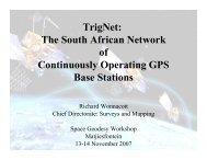 TrigNet - Space Geodesy Programme