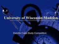The Needle Eater - University of Wisconsin-Madison