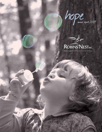 annual report 2009 - Robins' Nest Inc.
