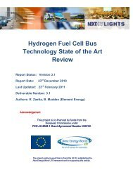 Hydrogen Fuel Cell Bus Technology State of the ... - NEXTHYLIGHTS