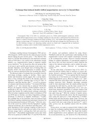 Exchange-bias-induced double-shifted magnetization curves in Co ...