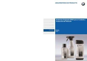Productos de Limpieza.qxp - BMW Carx Spain