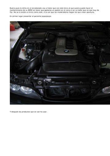 Mantenimiento del Serie 5 E39 - BMW Carx Spain