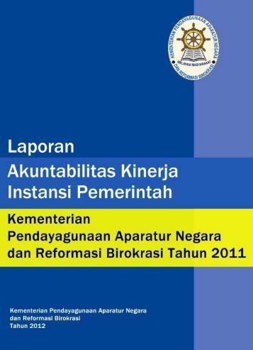 LAKIP Kementerian 2011 Kata Pengantar & Daftar Isi - Ditjen Bimas ...