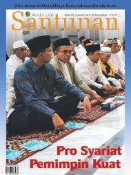 Majalah Santunan edisi Agustus 2011 - Kementerian Agama Prov ...