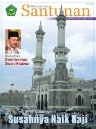 Majalah Santunan edisi Oktober 2010 - Kementerian Agama Prov ...