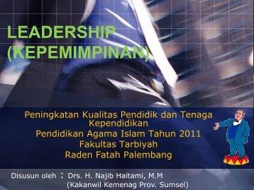 LEADERSHIP oleh Drs.H.Najib Haitami,MM