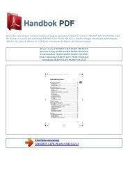 Bruker manual MEDION LIFE P62003 MD 82223 - HANDBOK PDF