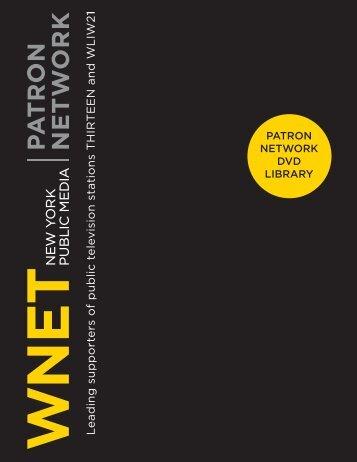 Patron DVD Library - WNET