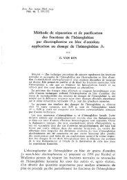 Méthode de séparation et de purification des fractions de l ... - ITG