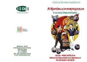 A República Portuguesa e os seus Presidentes - Biblioteca