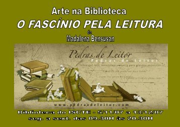 Flyer Madalena B. (frente e verso) - Biblioteca