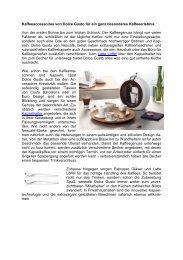 Kaffeeaccessoires von Dolce Gusto für ein ganz besonderes Kaffeeerlebnis