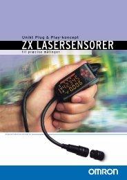 ZX Laser sensor Brochure - Omron Europe