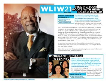 Finding your roots with henry louis gates, jr - WNET