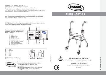 P550/2 – ACTIO 2 - Invacare