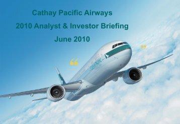 Cargo Terminal - Cathay Pacific