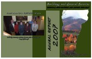 Annual Report -- 2007 - the Department of Buildings and General ...