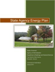 State Agency Energy Plan - the Department of Buildings and ...